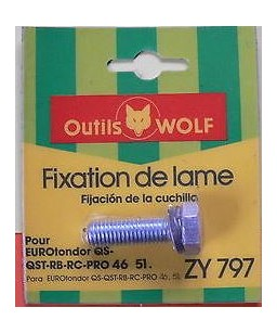 Fixation de lame ZY797 Wolf
