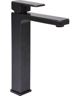 Mitigeur lavabo noir aspect...