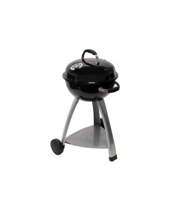 barbecue rond avec couvercle