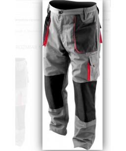 Pantalon de travail gris et...